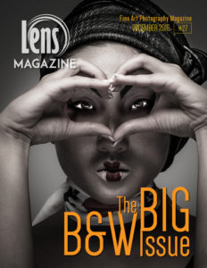 Allan Kliger Photography on the cover of Lens Magazine Issue 27 December 2016