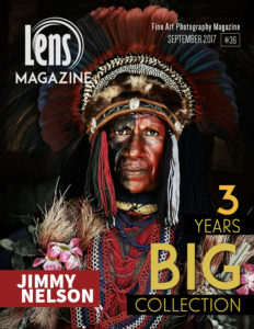 Lens Magazine Issue 36 Cover Image. Jimmy Nelson, Before they Pass.