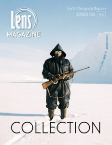 Photography Magazine Cover Image. Lens Magazine Issue 49 Special Collection